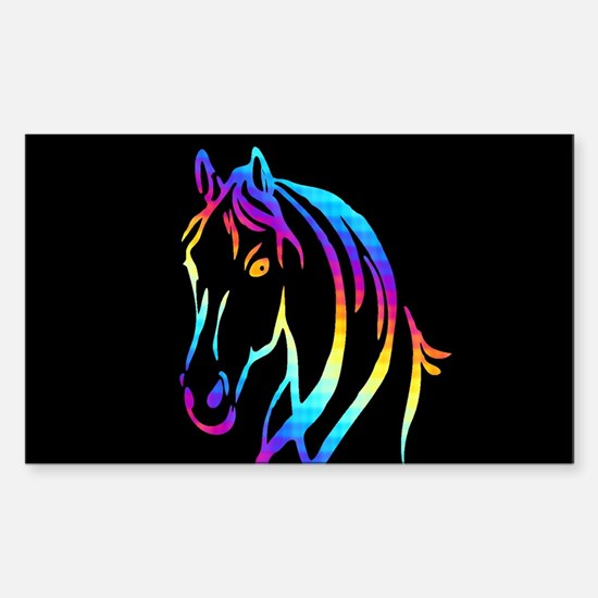 Colorful Horse Decal