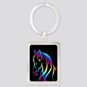 Colorful Horse Keychains
