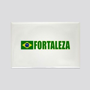 Fortaleza, Brazil Rectangle Magnet