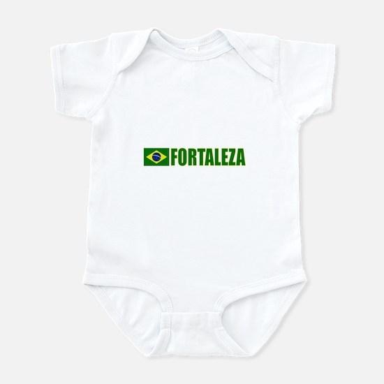 Fortaleza, Brazil Infant Bodysuit