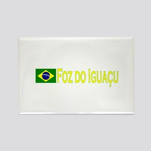 Foz de Iguacu, Brasil Rectangle Magnet