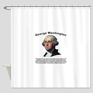 Washington: Constitution Shower Curtain
