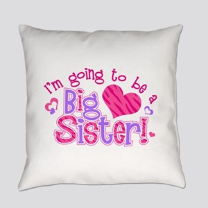 Imgoingtobeabigsisternew Everyday Pillow