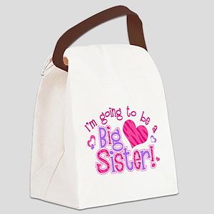 Imgoingtobeabigsisternew Canvas Lunch Bag
