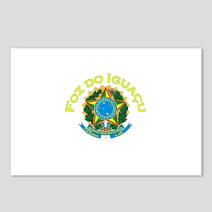 Foz do Iguacu, Brasil Postcards (Package of 8)