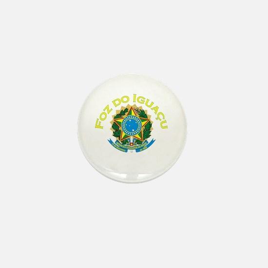 Foz do Iguacu, Brasil Mini Button