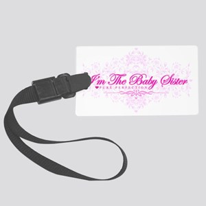 Imthebabysister Large Luggage Tag