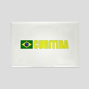 Curitiba, Brazil Rectangle Magnet