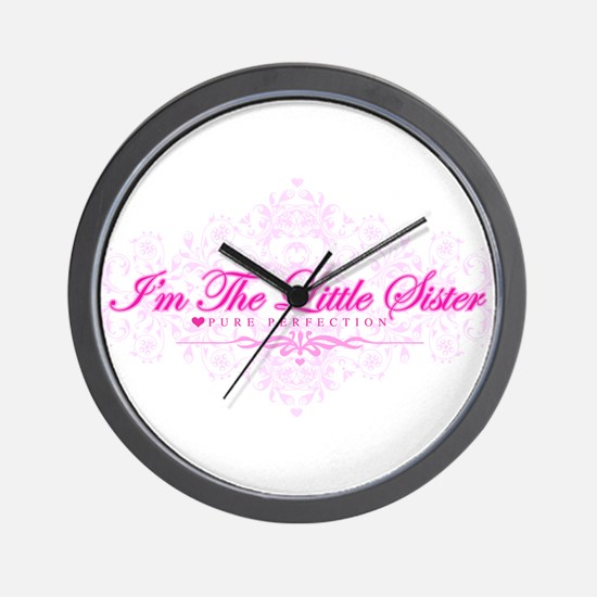 Imthelittlesister.png Wall Clock
