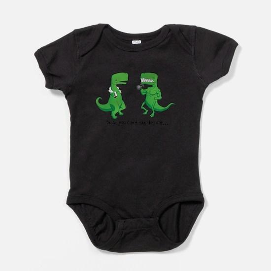 Cute Tyrannosaurus rex Baby Bodysuit