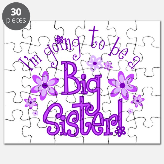 Im going to be a big sister Puzzle