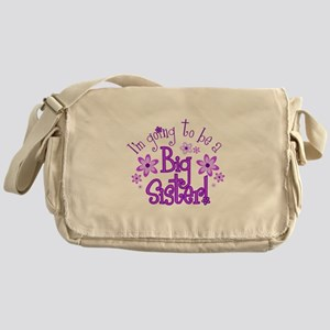 Im going to be a big sister Messenger Bag
