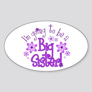 Im going to be a big sister Sticker