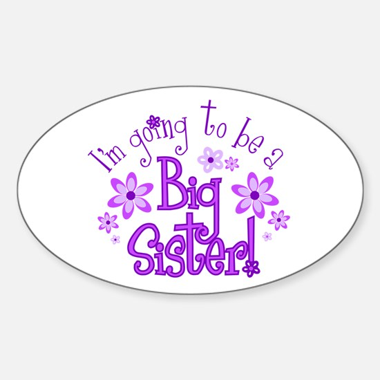 Im going to be a big sister Decal