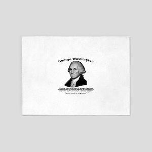 Washington: Education 5'x7'Area Rug