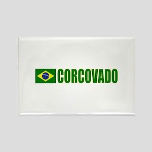 Corcovado, Brazil Rectangle Magnet