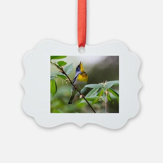 Cute Songbird Ornament