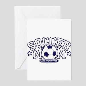 Soccer Mom Greeting Cards