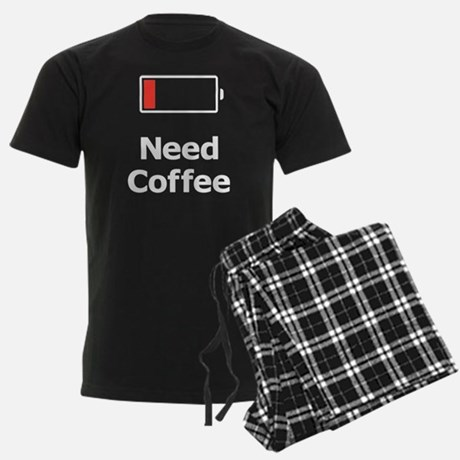 Need Coffee Men's Pajamas