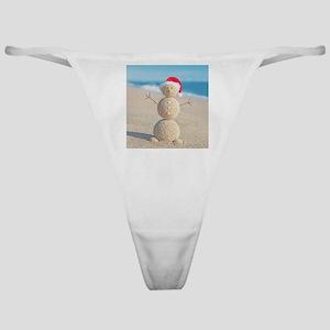 Beach Snowman Classic Thong