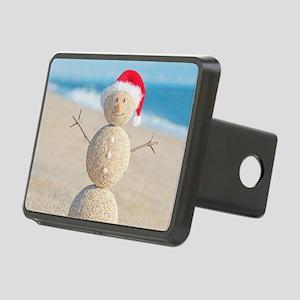 Beach Snowman Hitch Cover