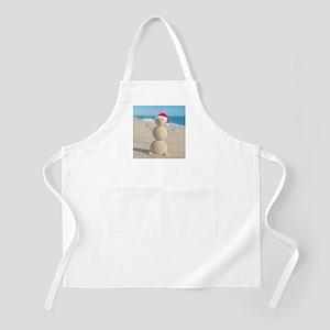Beach Snowman Apron