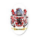MacWalter Oval Car Magnet