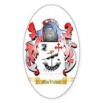 MacVicker Sticker (Oval 10 pk)
