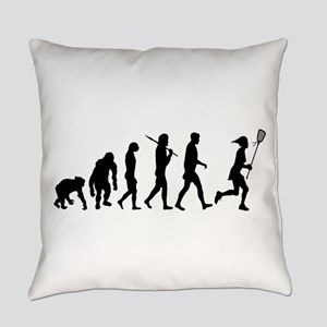 Lacrosse Player Everyday Pillow