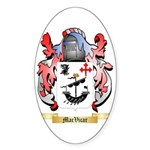 MacVicar Sticker (Oval 50 pk)