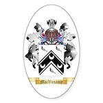 MacVanamy Sticker (Oval)