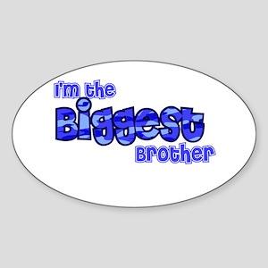 Im the biggest brother Sticker