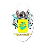 MacVail Oval Car Magnet
