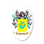 MacVail 20x12 Oval Wall Decal