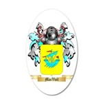 MacVail 35x21 Oval Wall Decal