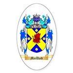 MacUaid Sticker (Oval 10 pk)
