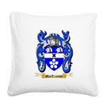 MacTraynor Square Canvas Pillow