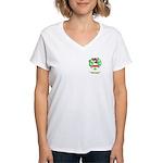 MacTeggart Women's V-Neck T-Shirt