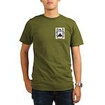 MacTeague Organic Men's T-Shirt (dark)