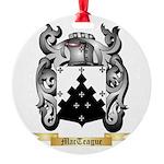MacTeague Round Ornament