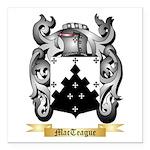 MacTeague Square Car Magnet 3