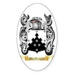 MacTeague Sticker (Oval 10 pk)