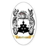 MacTeague Sticker (Oval 50 pk)
