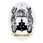 MacTeague Oval Ornament