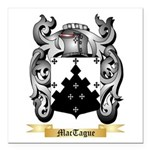 MacTague Square Car Magnet 3