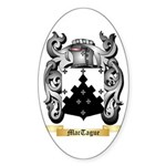 MacTague Sticker (Oval 50 pk)