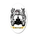 MacTague 35x21 Oval Wall Decal
