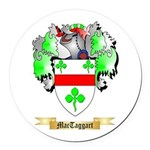 MacTaggart Round Car Magnet