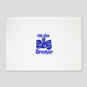 Im the big brother 5'x7'Area Rug