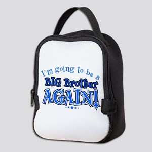 Im going to be a big brother ag Neoprene Lunch Bag